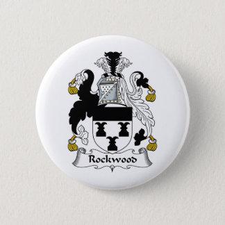 Rockwood Family Crest Pinback Button