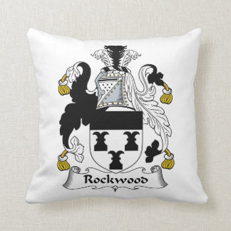 Rockwood Family Crest Throw Pillow