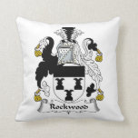 Rockwood Family Crest Throw Pillows