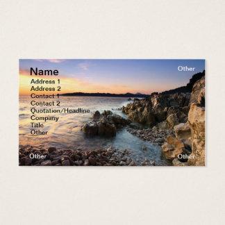 Rocky Adriatic Business Card