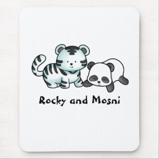 Rocky and Mosni Mouse Pad