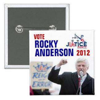 Rocky Anderson 2012 Button