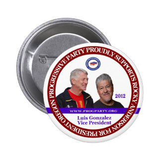 Rocky Anderson Oregon 2 Pinback Buttons