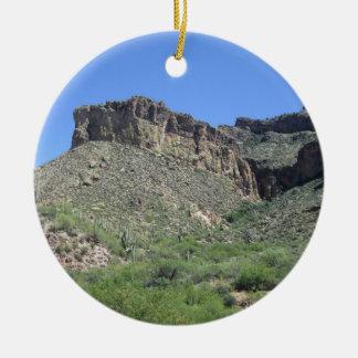 Rocky Apache Trail Ceramic Ornament
