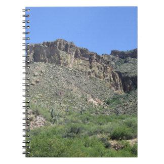 Rocky Apache Trail Spiral Notebooks