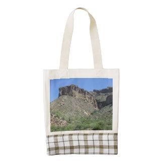 Rocky Apache Trail Zazzle HEART Tote Bag