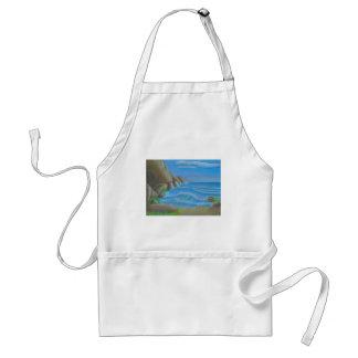 Rocky beach adult apron