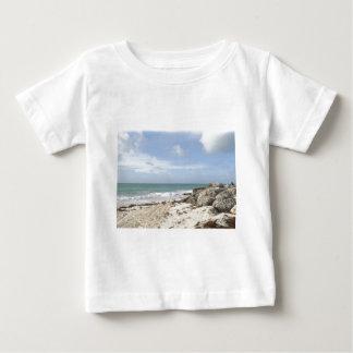 Rocky Beach at Port Lucaya, Freeport, Bahamas Baby T-Shirt