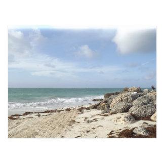 Rocky Beach at Port Lucaya, Freeport, Bahamas Postcard