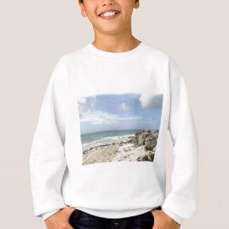 Rocky Beach at Port Lucaya, Freeport, Bahamas Sweatshirt