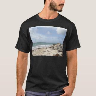 Rocky Beach at Port Lucaya, Freeport, Bahamas T-Shirt