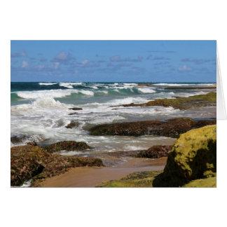 Rocky Beach Card