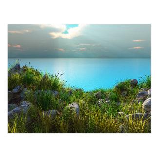 Rocky Beach Postcard