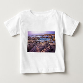 Rocky Beach Sunset T Shirt