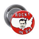 Rocky - botón pin redondo de 2 pulgadas
