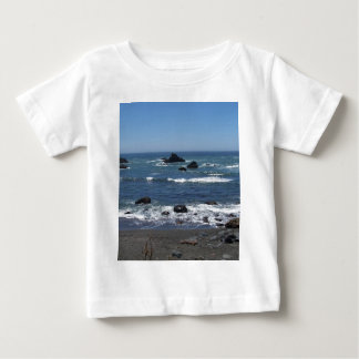 Rocky California Coastline Baby T-Shirt