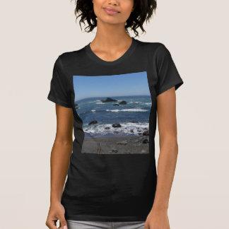 Rocky California Coastline T-Shirt