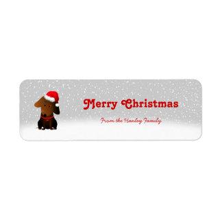 Rocky Christmas Gift Tags