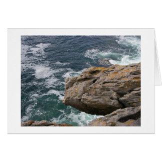 Rocky Clare Coast Card