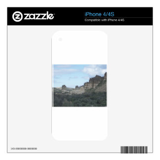 Rocky Cliff View Skin For iPhone 4S