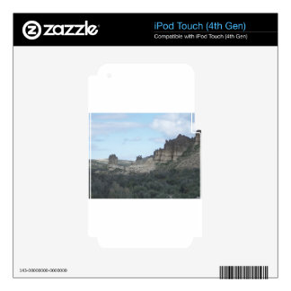 Rocky Cliff View Decal For iPod Touch 4G