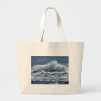 Rocky Coast 2 Large Tote Bag