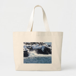 Rocky Coast 3 Jumbo Tote Bag