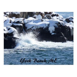 Rocky Coast 3 Post Card