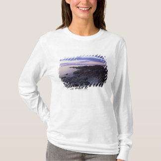 Rocky Coast at Sunset in Kintyre, Argyll, Scotland T-Shirt