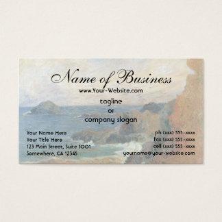 Rocky Coast by Paul Gauguin Business Card