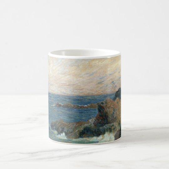 Rocky Coast by Paul Gauguin, Vintage Impressionism Coffee Mug