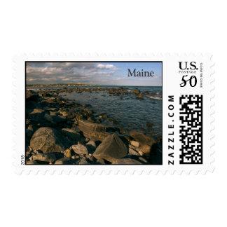 Rocky Coast of Maine   Postage