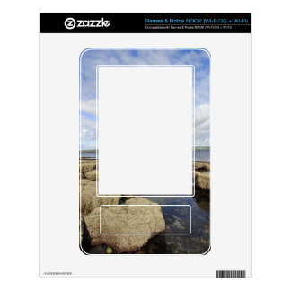 Rocky Coastline Decal For The NOOK