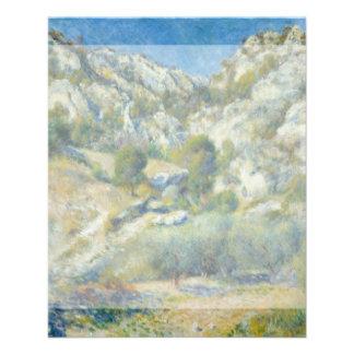 Rocky Crags at L'Estaque by Pierre-Auguste Renoir Flyer