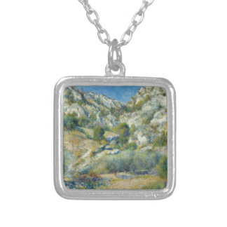 Rocky Crags at L'Estaque by Pierre-Auguste Renoir Custom Jewelry