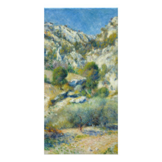 Rocky Crags at L'Estaque by Pierre-Auguste Renoir Photo Greeting Card