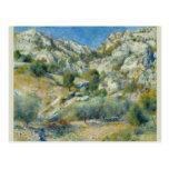Rocky Crags at L'Estaque by Pierre-Auguste Renoir Postcard
