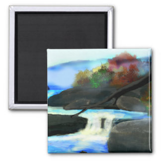 Rocky Creek 2 Inch Square Magnet