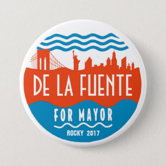 Rocky De La Fuente for NYC Mayor 2017 Pinback Button