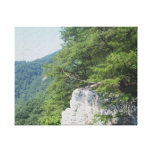 Rocky Edge Stretched Canvas Prints
