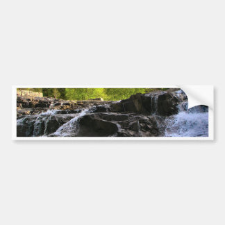 Rocky Falls From The Bottom Car Bumper Sticker
