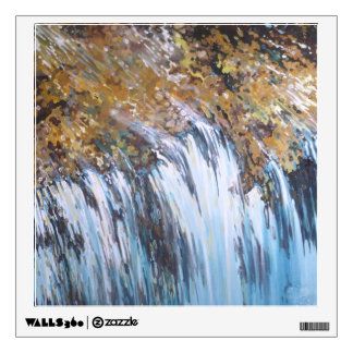 Rocky Falls Waterfall Wall Decal by M. Juul