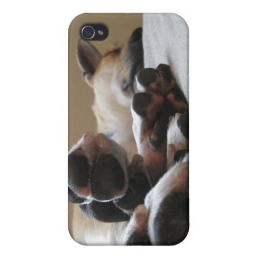 ROCKY FEET COVER FOR iPhone 4