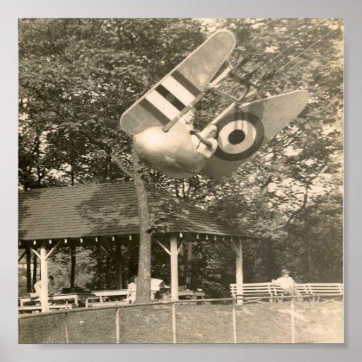 Rocky Glen Park Home: Rocky Glen Amusement Park Moosic Pa. Poster