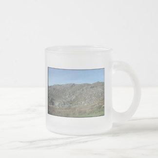 Rocky Hills Near Dursey Head. Ireland. 10 Oz Frosted Glass Coffee Mug