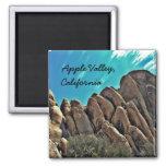 Rocky hills of Apple Valley, Ca. magnet Refrigerator Magnet