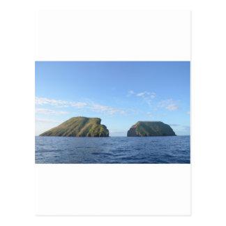 Rocky islands postcard