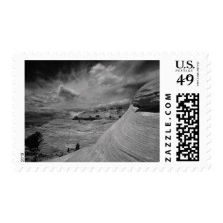 Rocky Landscape and Sky Canyonlands National Postage Stamp