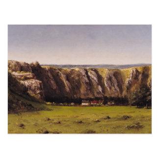 Rocky landscape near Flagey Postcard