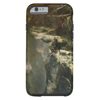 Rocky Landscape with a Huntsman and Warriors (oil Tough iPhone 6 Case